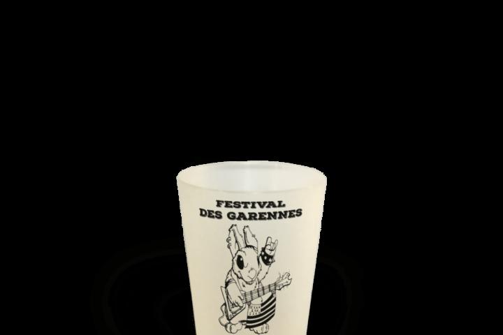 Festival des garennes Cup 12 Gobelet réutilisable association