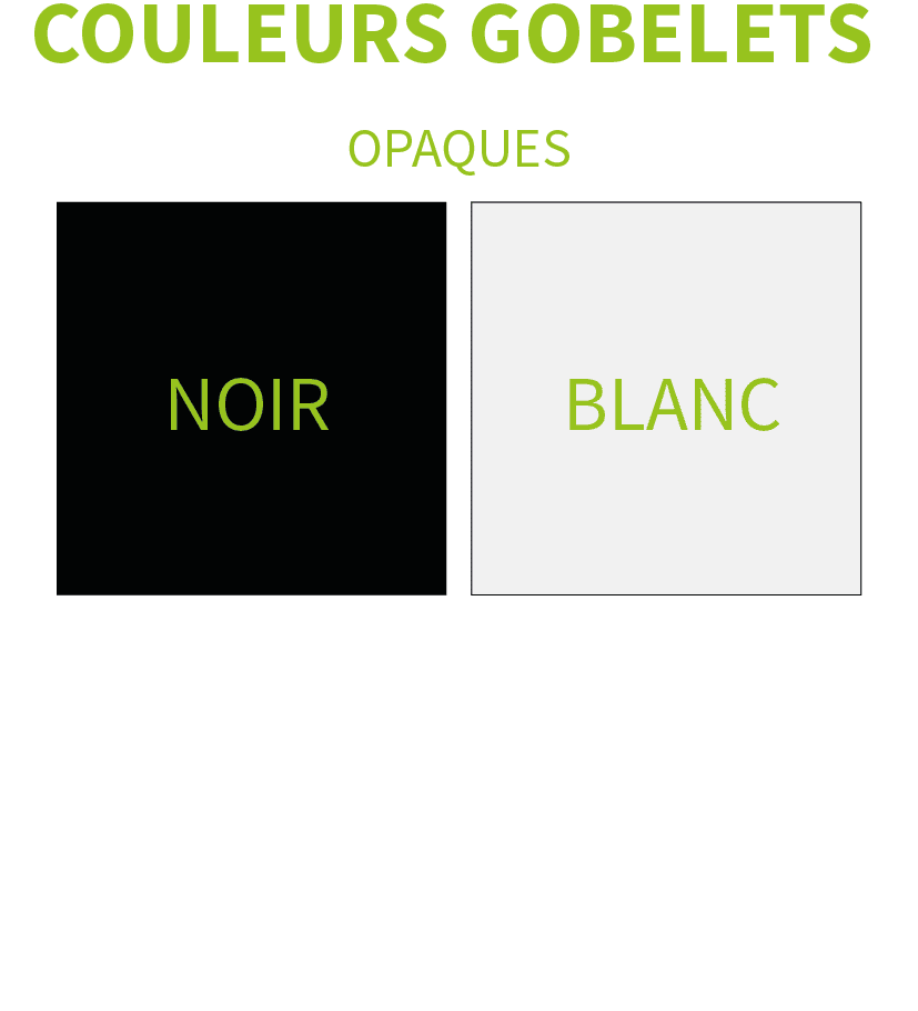 Gamme de couleurs EP 25 100 % Recyclé