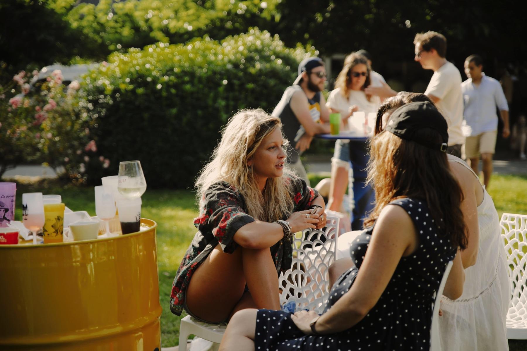 Garden Party au Château d'Apigné