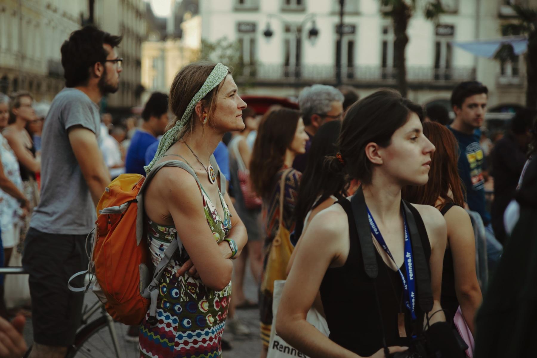 Transat En Ville à Rennes avec des gobelets réutilisables