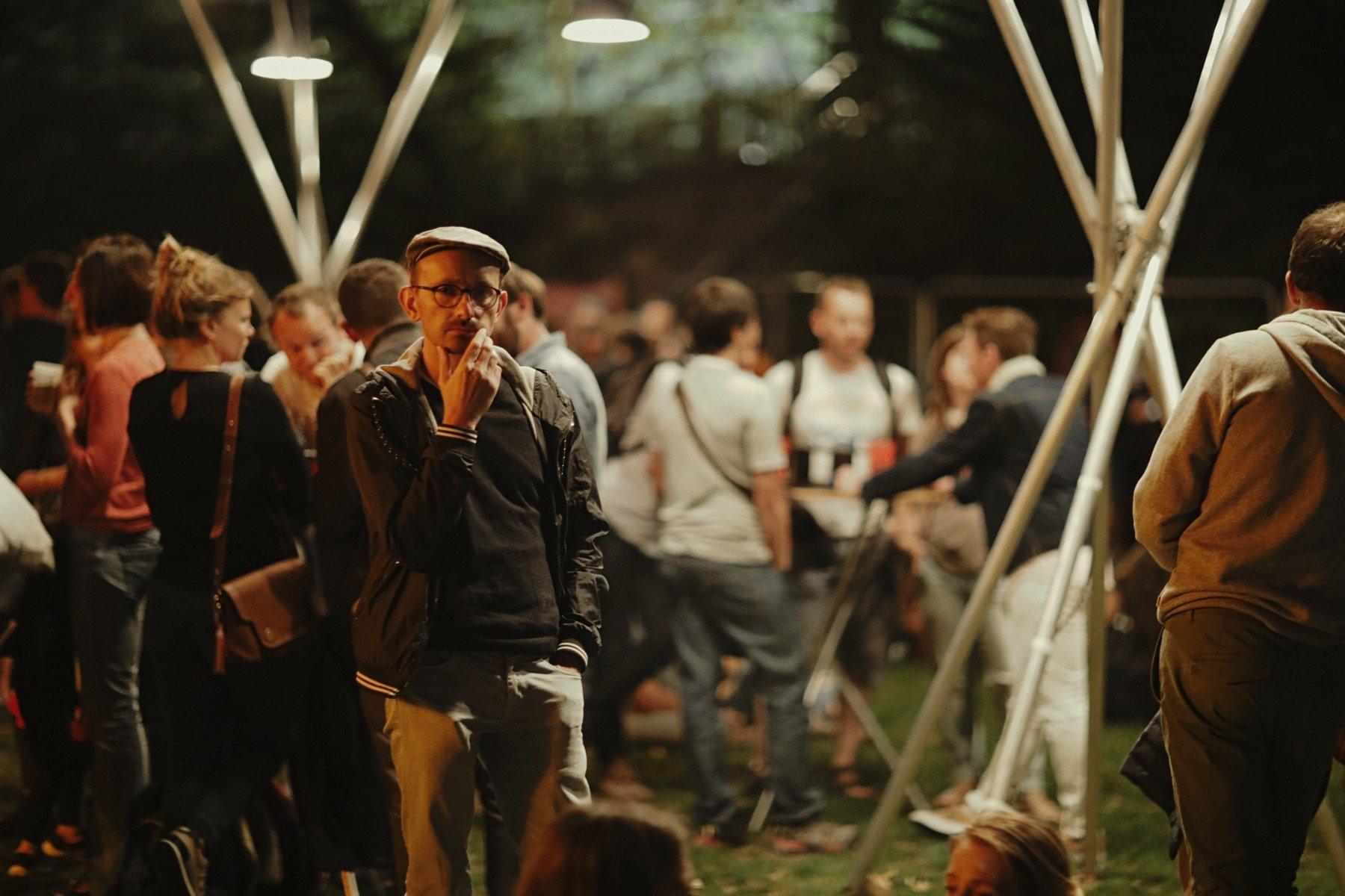 Le Festival I'm From Rennes et les gobelets réutilisables Esprit Planète.