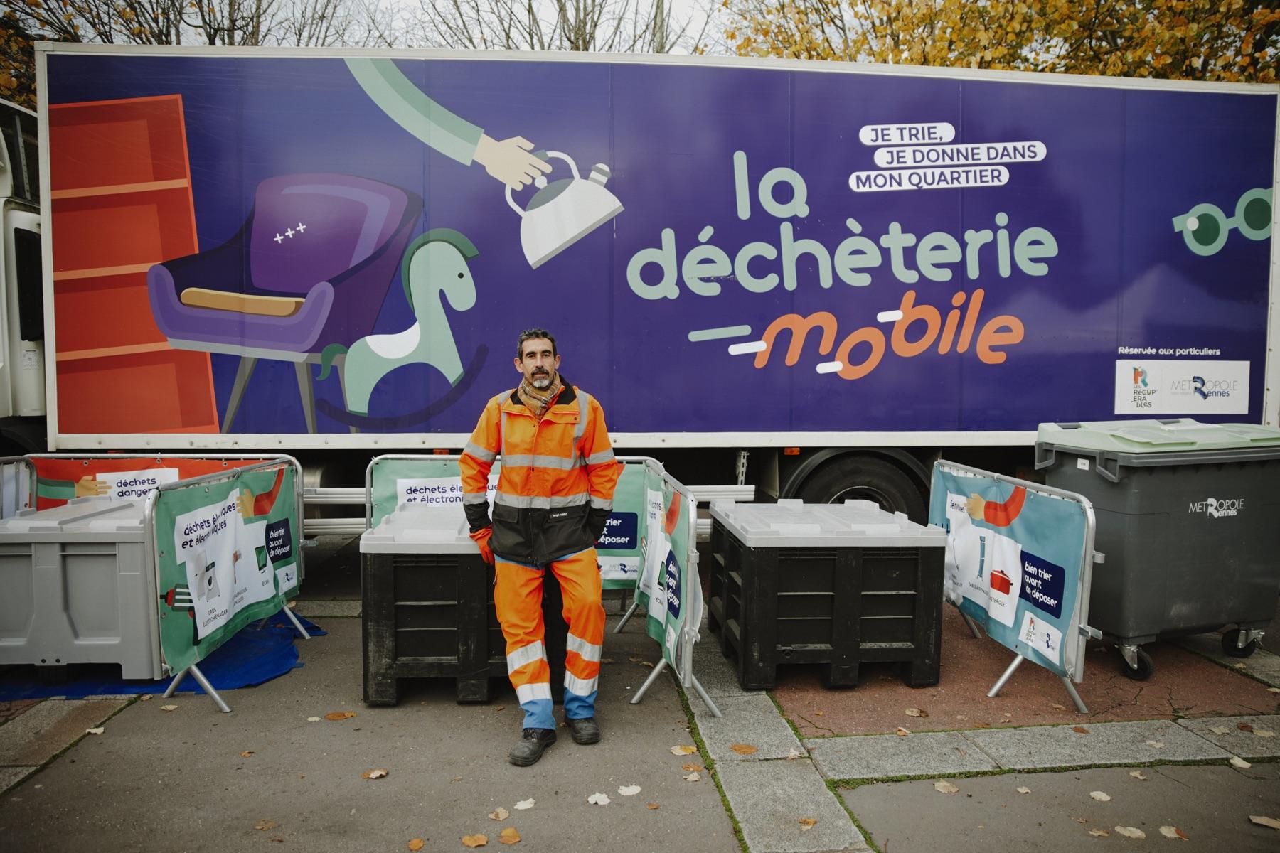 La Déchèterie Mobile et le gobelet réutilisable Esprit Planète